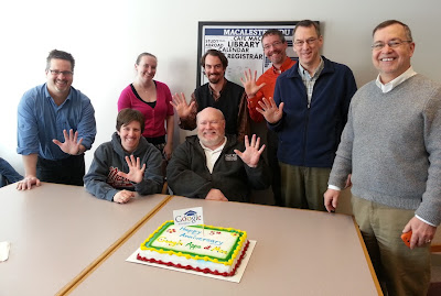 standing left to right: Brad Belbas, Alison Sommer, Jeff Conrod, Barron Koralesky,  David Wheaton, Jerry Sanders seated left to right: Tanya Pfeffer, David Sisk