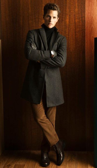 abrigos hombre invierno 2012 Massimo Dutti