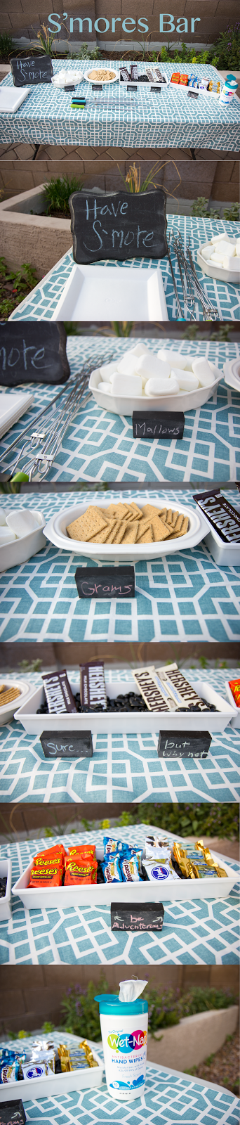 Creative S'mores Bar