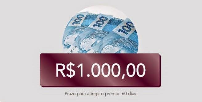 premio 1000 reais