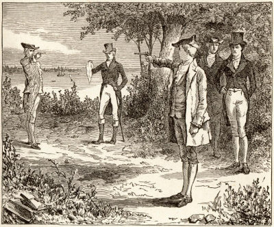 the duel between alexander hamilton and aaron burr which began in 1776 'duel with the devil' author paul collins explains how founding fathers alexander hamilton and aaron burr, best known for their fatal duel, came to serve as the defense team for a sensational trial.