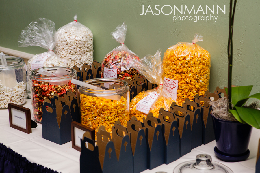 Jason Mann Photography - Door County Wisconsin Wedding Popcorn Bar