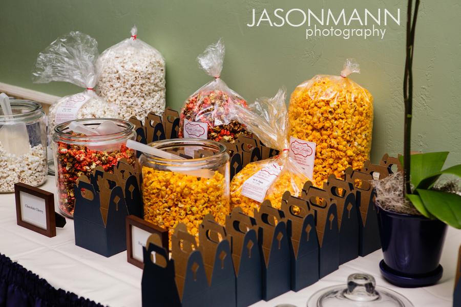 Jason Mann Photography - Door County Wisconsin Wedding Popcorn Bar
