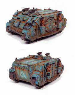 Pre Heresy Alpha Legion Deimos Pattern Rhino
