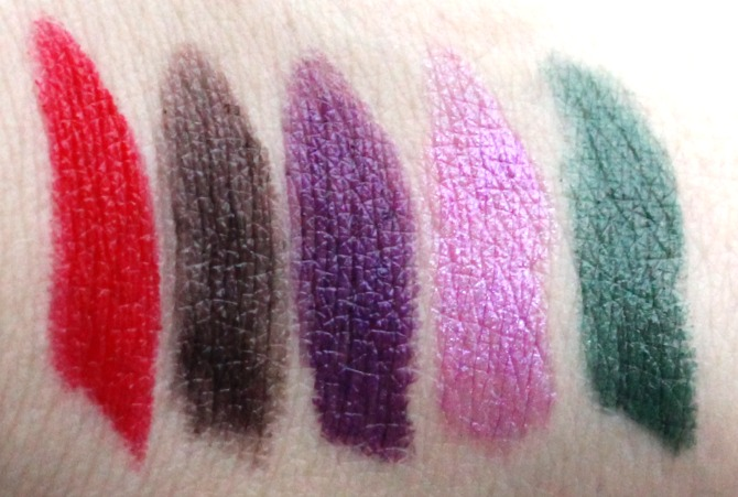 Makeup Revolution Atomic lipsticks