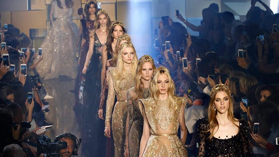 Elie Saab Show 2015 runway dresses