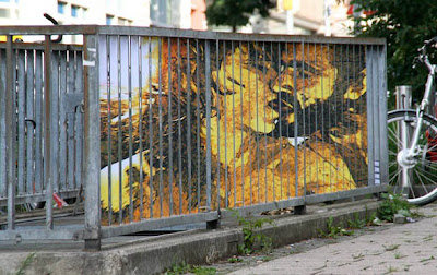 Outdoor Illusion Painted