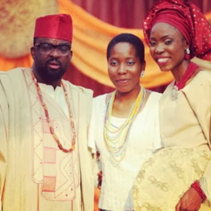 kunle afolayan wedding photos