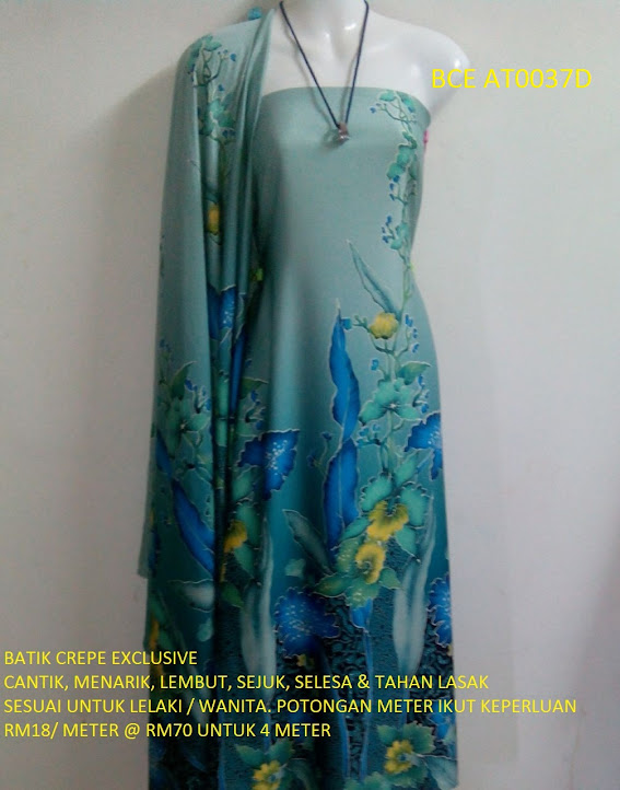 BCE AT0037D: BATIK CREPE EXCLUSIVE