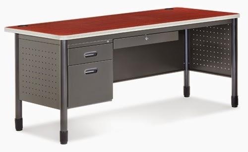 OFM Single Pedestal Desk