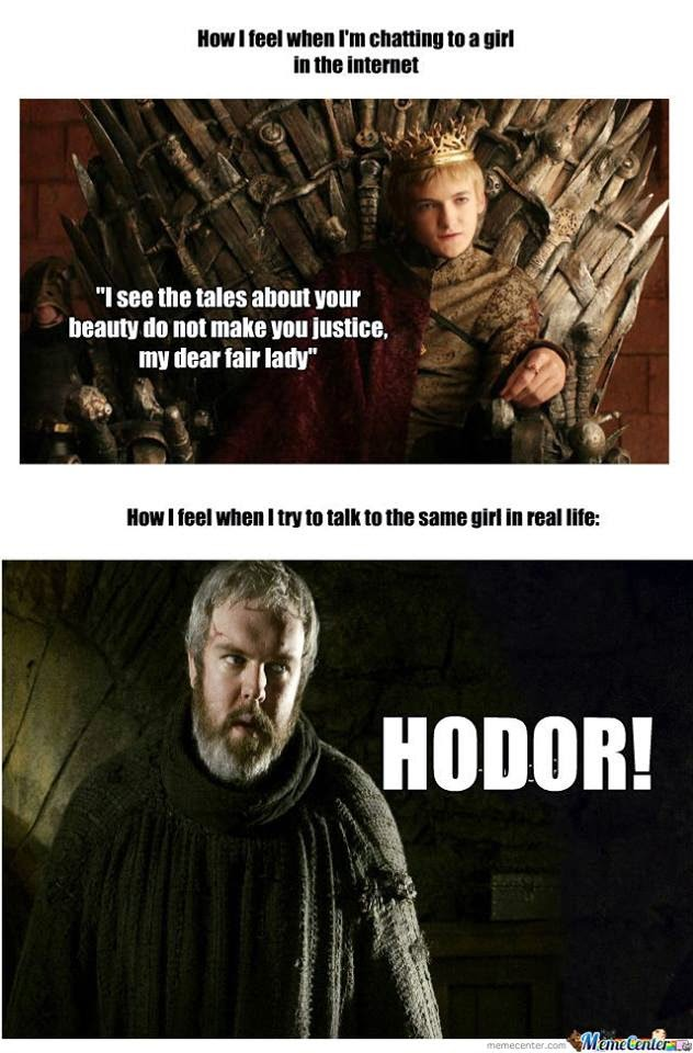 #GameOfThrones One Of The Best Hodor Meme