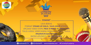 Audisi Comedy Academy Indosiar 2015