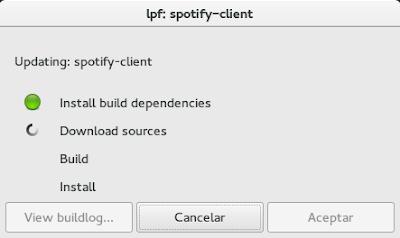 Instalar Spotify en Fedora 22
