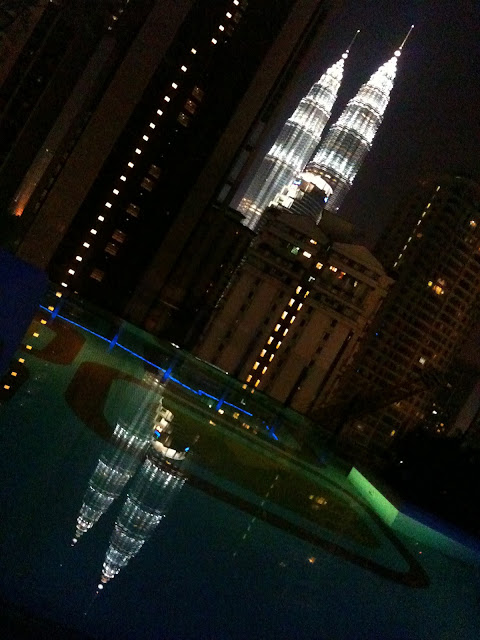 g tower swimming pool
