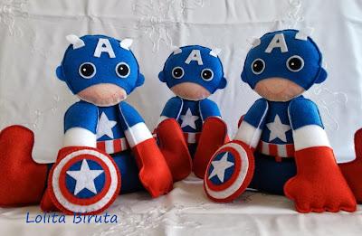 Capitão América em feltro