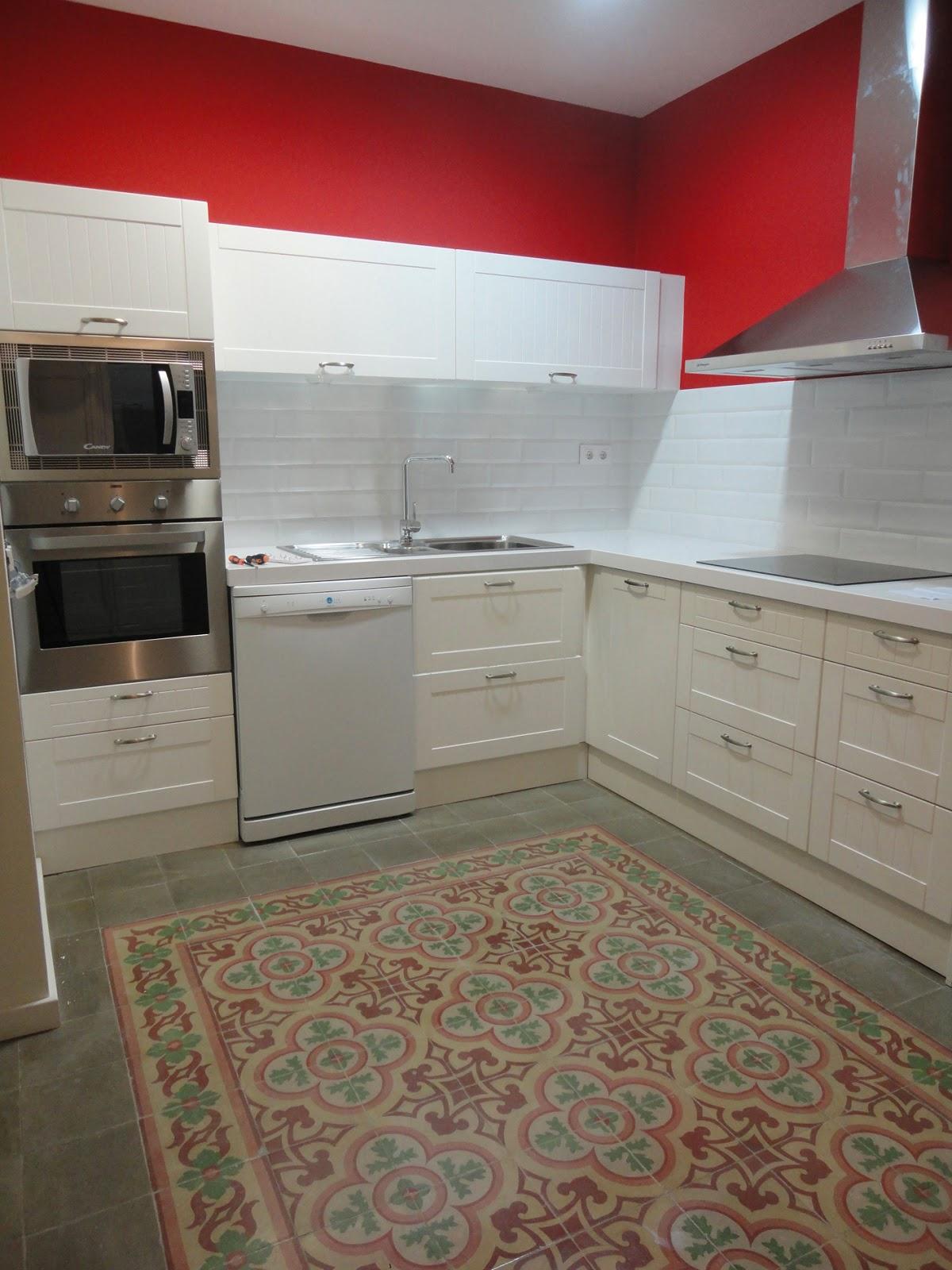 Deco suelo hidr ulico para mi cocina in my kitchen - Suelo de cocina ...