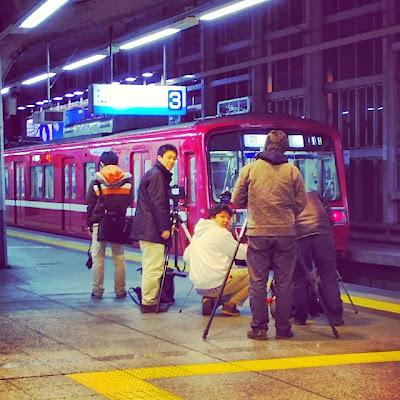 Trainspotting in Japan, Shinagawa Station, Tokyo
