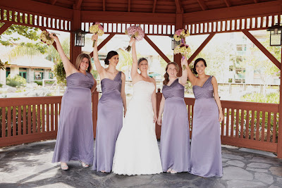 orlando wedding bridesmaids