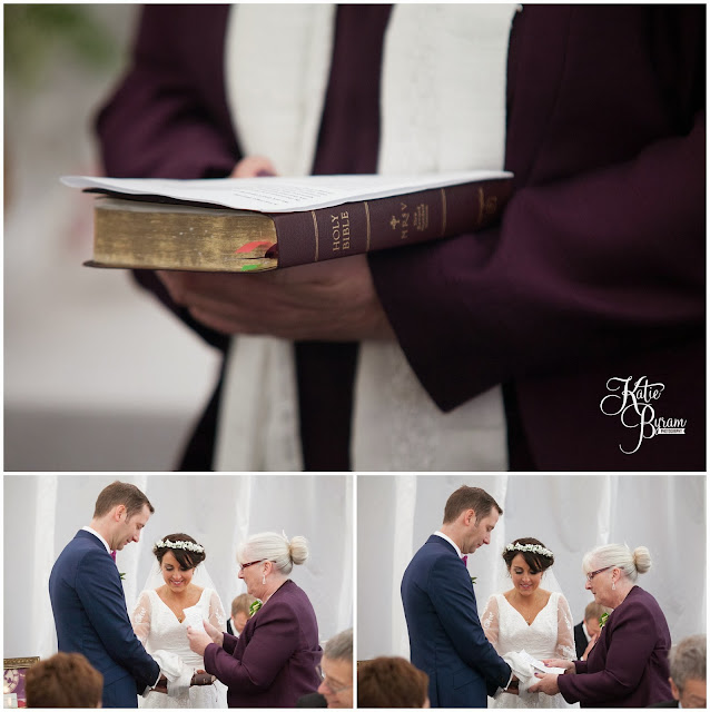 bible, religious blessing wedding, high house farm brewery, northumberland wedding, farm wedding, quirky wedding, alternative wedding photography, high house farm, brewery wedding, matfen brewery, matfen wedding, yap bridal boutique, wildflowers, katie byram photography, floral wedding, vintage wedding