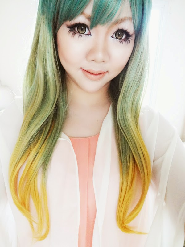 kawaii wig