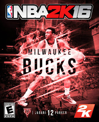 NBA 2K16 Custom Covers - Milwaukee Bucks
