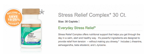 Stress Relief Complex