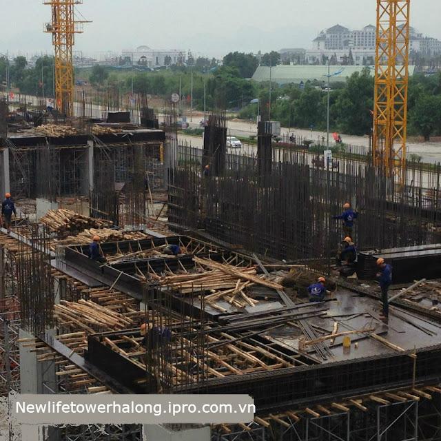 Tiến độ dự án New Life Tower Hạ Long Tháng 9/2015