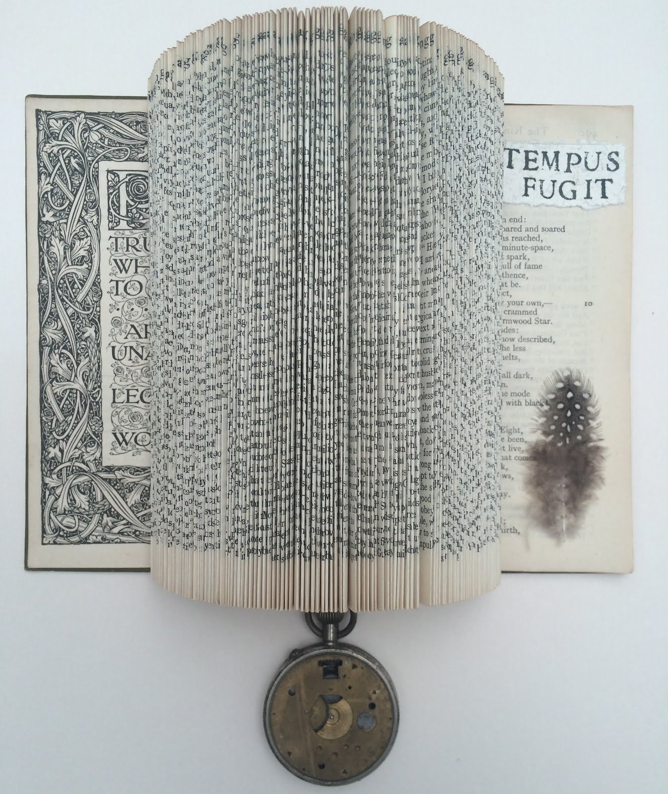 BOOK SCULPTURE BY SALLY MacCABE