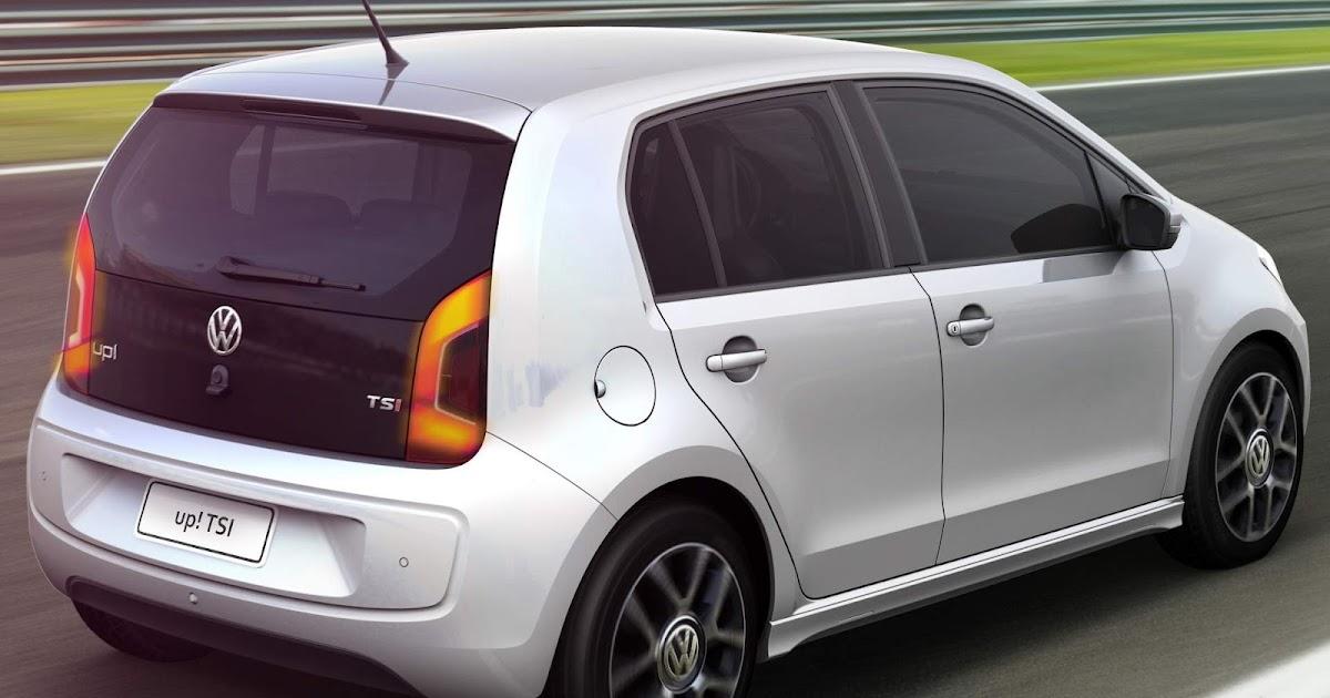 Volkswagen up! TSI: vídeo, fotos e especificações oficiais