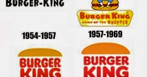 evolu231227o amp marca burger king logo