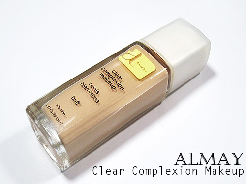 almay clear complexion makeup review