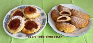 Jahodové koláčiky - recepty