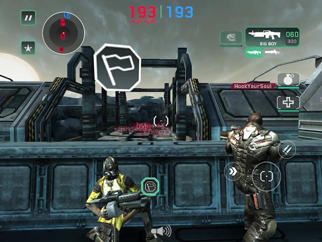 Shadowgun DeadZone White Flag Tactic Sniper Strategy