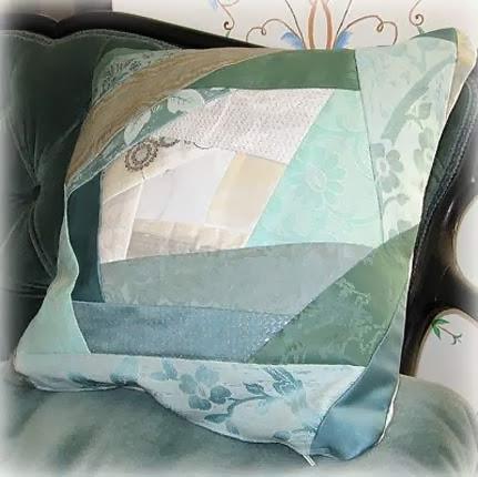 Moldes de almofadas em patchwork