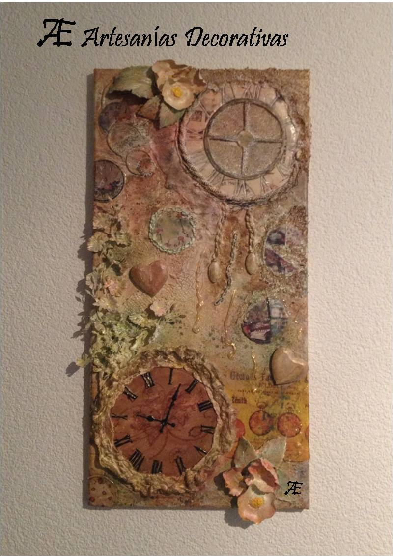 Aylle artesan as decorativas bisuter as y otras cosillas cuadros artesanales tripticos - Cuadros artesanales infantiles ...
