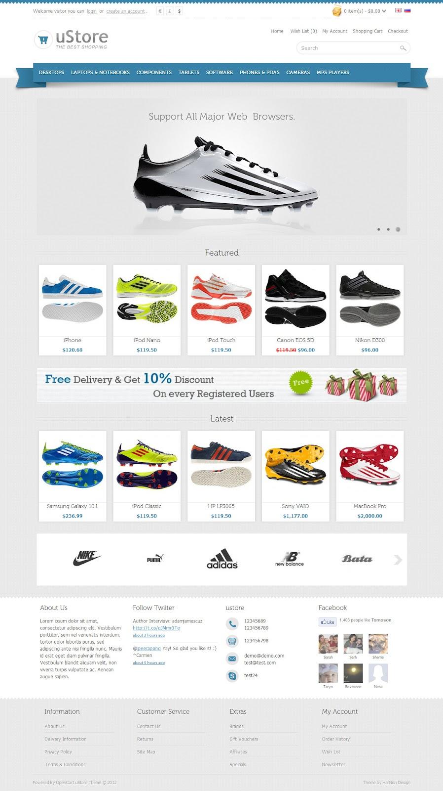 uStore–Premium-OpenCart-Theme