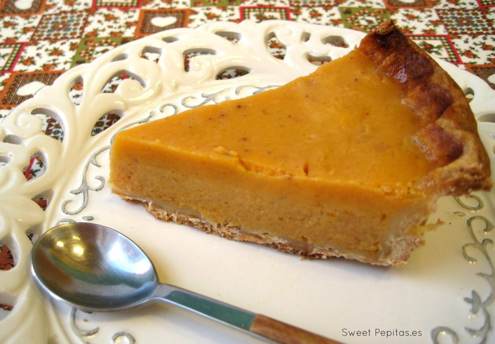 receta tarta calabaza