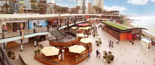 Bit cora arquitectura peruana centro comercial larcomar - Espacios comerciales arquitectura ...