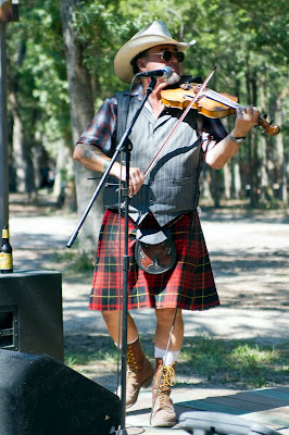 Clandestine performs at Sherwood Forest Celtic Festival 2012. McDade, Texas.