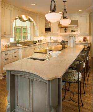 Attirant Limestone Kitchen Countertops. U201c