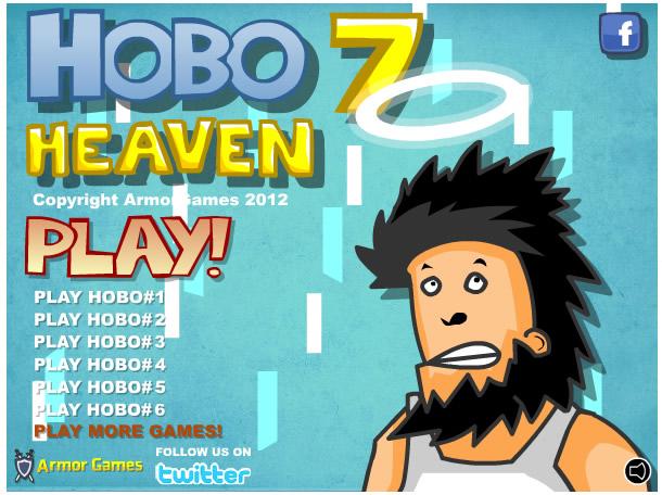 Armor Game : Hobo 7 - HEAVEN
