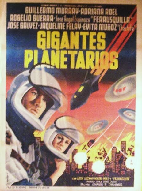 Carteles de cine fantástico Mexicanos