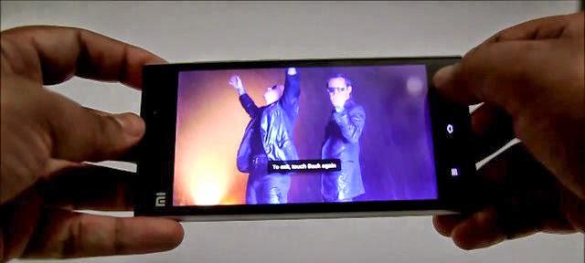 Xiaomi Mi3 Camera