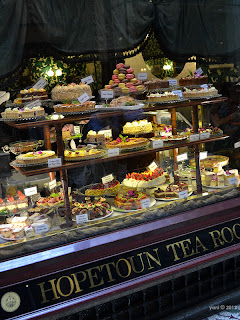 hopetoun tea room window goodies