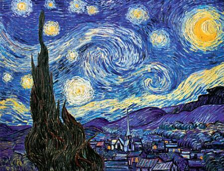 Cat s eye view mpl starry starry night