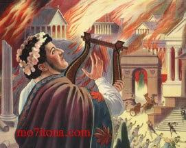 الإمبراطور نيرون وحريق روما