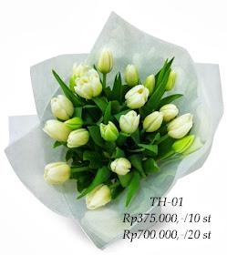 Hand Bouquet Tulip