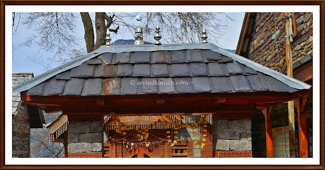 Gate, entry, Jagatipatt, Temple, The Castle, Naggar, Kullu