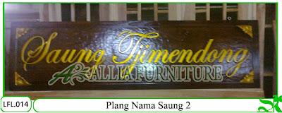 plang nama model untuk saung maupun plang dirumah dan tempat lainnnya