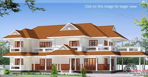 Western Style House Design In Kerala Keralahousedesigns